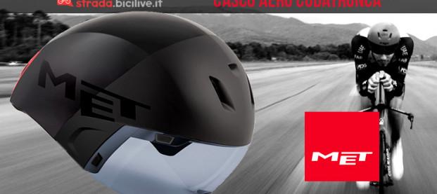 MET Codatronca: il casco aerodinamico per crono e triathlon