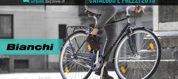 Le bici urban e trekking di Bianchi: catalogo e listino prezzi 2019