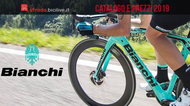 Bianchi bici da strada, endurance, cross e pista: il catalogo e listino prezzi 2019