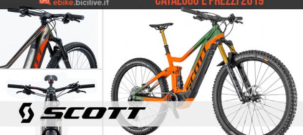 Le bici elettriche Scott: catalogo e listino prezzi 2019