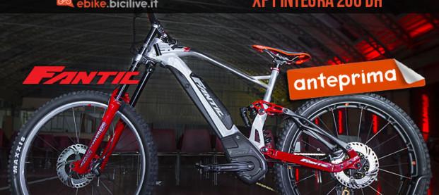 Fantic presenta la XF1 Integra 200 DH, una eMTB da downhill
