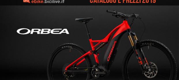 Le bici elettriche Orbea 2019: catalogo e listino prezzi