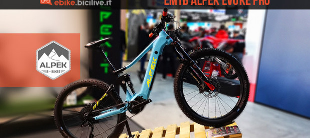 Alpek Evoke PRO, la eMTB torinese da all mountain