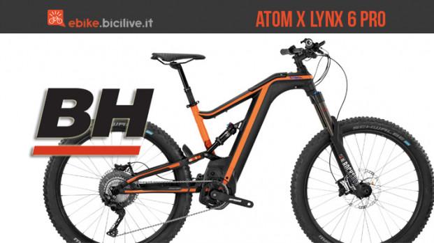 Atom X Lynx 6 Pro: l'all mountain BH Bikes dalle prestazioni atomiche