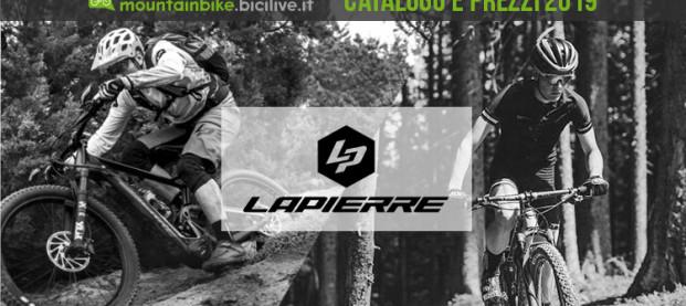 Le mountain bike di Lapierre per il 2019: catalogo e listino prezzi