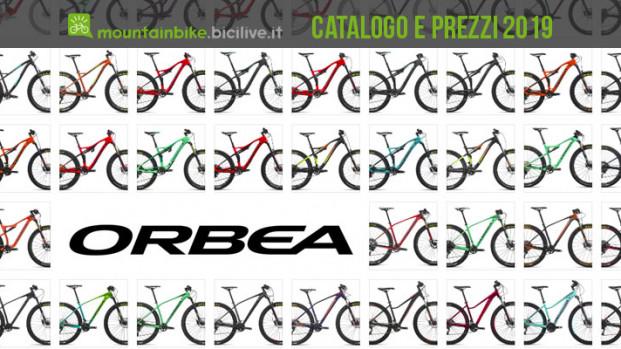 Le MTB di Orbea per il 2019: catalogo e listino prezzi
