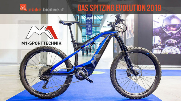 La eMTB Das Spitzing Evolution: l'evoluzione in carbonio di M1 Sport Technik