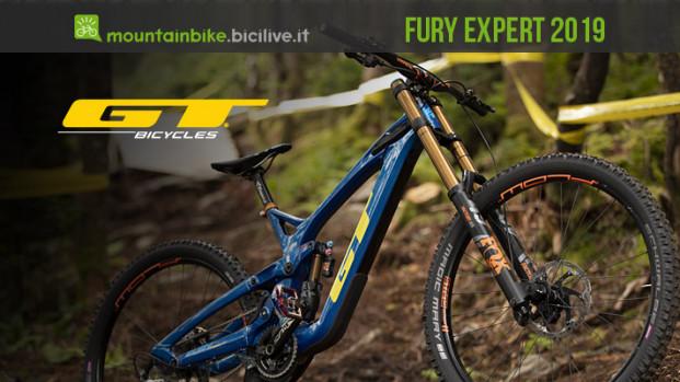 GT Fury Expert, rinnovata e pronta per il downhill