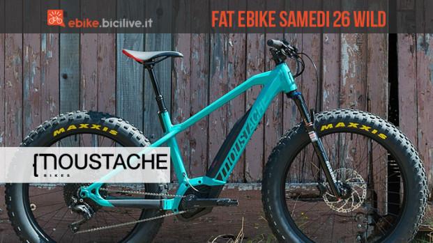 Moustache Samedi 26 Wild: la fat e-bike da leccarsi i baffi