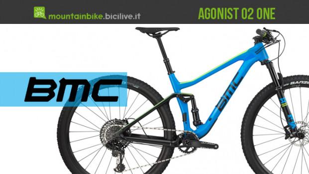 BMC Agonist 02 One, la mtb full suspended da XC
