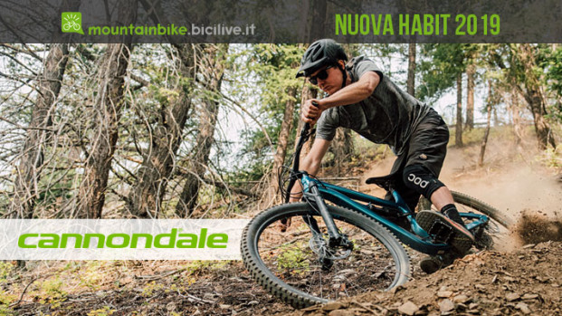 La trail bike Cannondale Habit 2019