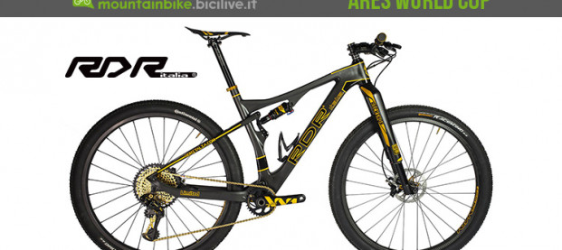 RDR Ares World Cup, la XC in carbonio tutta made in Italy