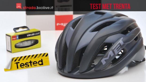 Il test del casco aero MET Trenta: leggero e ben ventilato