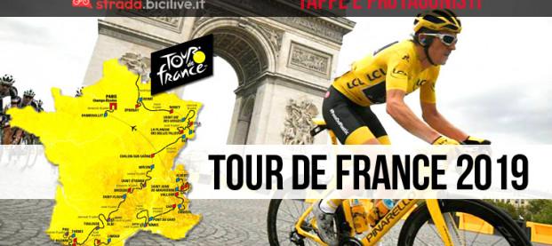 Tour de France 2019: l'edizione 106 dal 6 al 28 luglio