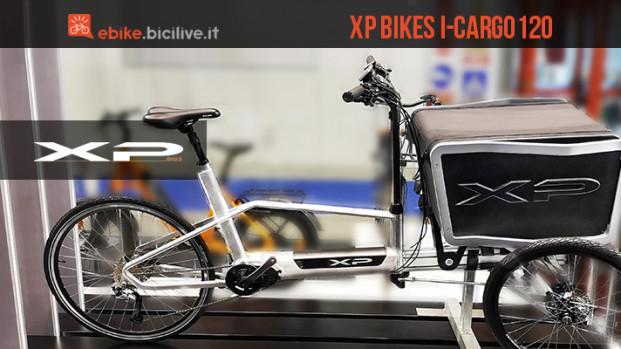 XP Bikes I-Cargo120, la cargo ebike di nuova concezione