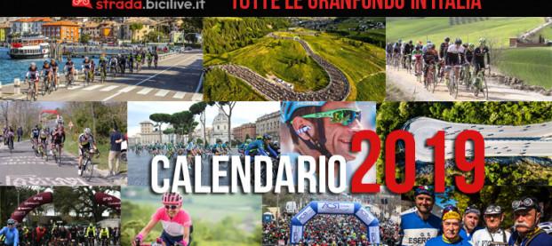 Calendario completo Granfondo ciclismo 2019