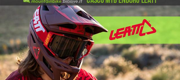 Leatt DBX 4.0, il casco mtb integrale pensato per l'enduro