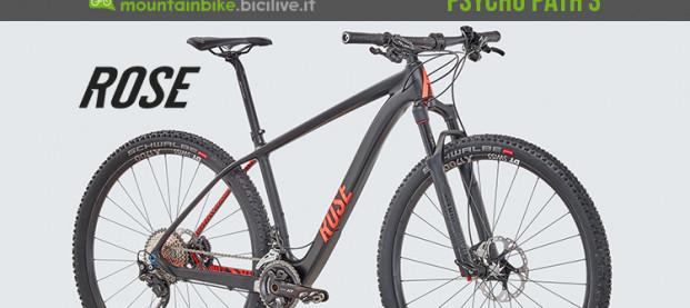 Rose Bikes Psycho Path 3, la mountain bike in carbonio da XC
