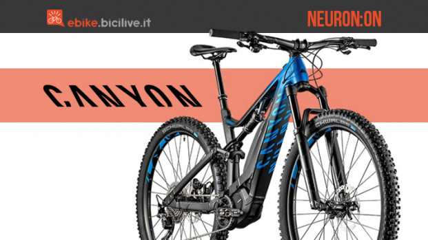 Neuron:ON, Canyon è alla ricerca dell'eMTB totale