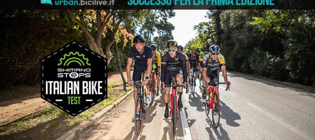 Ottimi numeri per la prima edizione del Shimano Steps Italian Bike Test