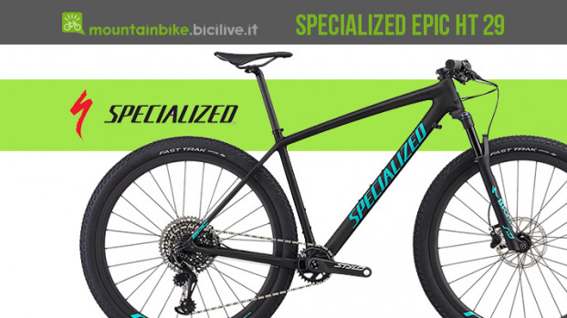 Specialized Epic HT 29 2019, la mtb da XC