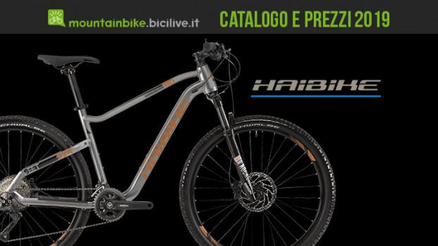 Le mountain bike Haibike: catalogo e listino prezzi 2019