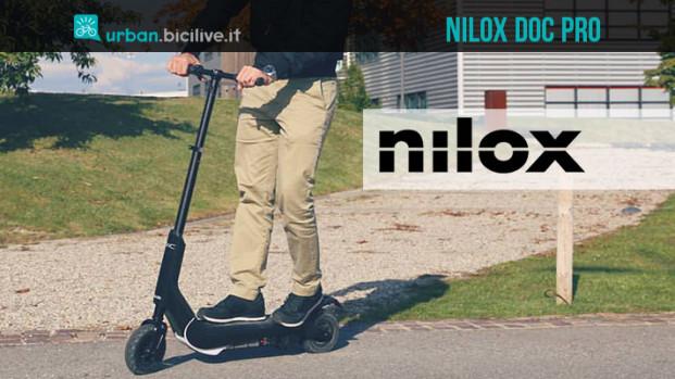 Monopattino elettrico Nilox DOC PRO: nato per il commuting