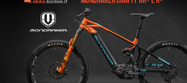 Mondraker Crafty RR+ e R+ 2019, una eMTB tra all mountain ed enduro