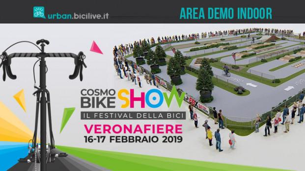 Prova gratuita delle biciclette nell'Area Demo di CosmoBike Show 2019