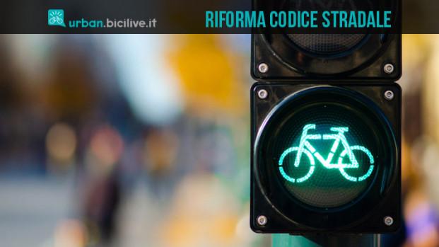 Una riforma del Codice Stradale favorevole ai ciclisti