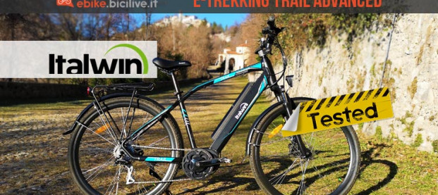 Test Italwin Trail Advanced, la trekking ebike dalla lunga autonomia