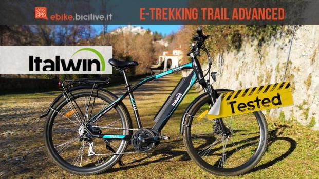 Test Italwin Trail Advanced, la trekking ebike dalla lunga autonomia