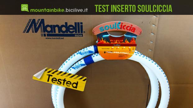 Test del sistema di protezione cerchio MTB SoulCiccia