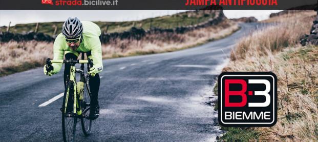 Biemme Sport Jampa: la linea abbigliamento per ciclisti anti vento e pioggia