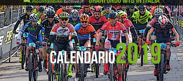 Il Calendario delle granfondo mtb 2019 in Italia