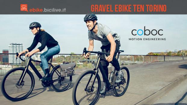 Coboc presenta la gravel ebike TEN Torino a BikeUp 2019