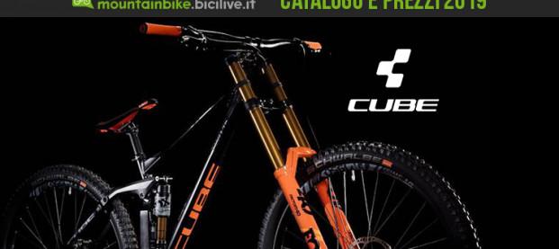 Le Mountain bike Cube 2019: catalogo e listino prezzi