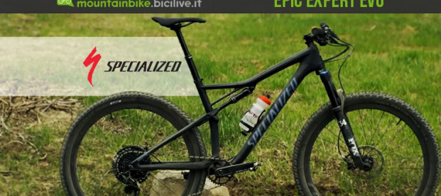La Specialized Epic Expert Evo Carbon 29, una full dall'XC al trail riding