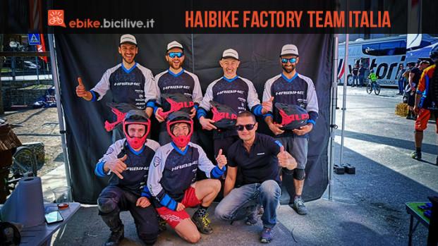 Haibike Factory Team Italia, una squadra vincente per l'e-Enduro