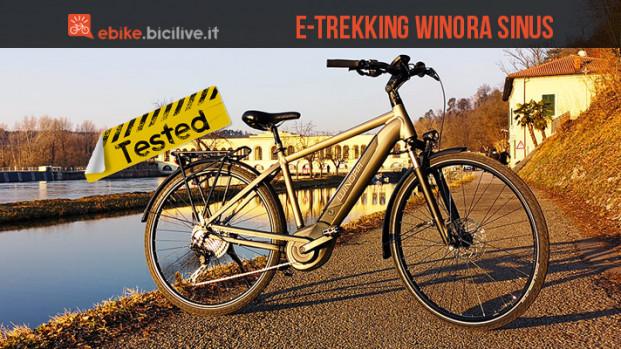 Il test della ebike da trekking Winora Sinus iX11: potenza da vendere