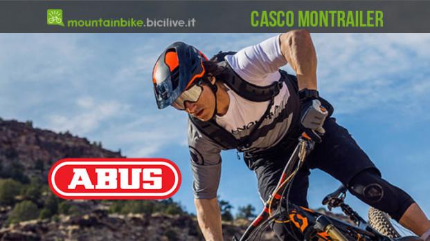 Cedric Gracia, Richie Schley e il nuovo casco MTB ABUS MonTrailer