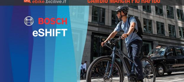Bosch eShift: il cambio integrato per una guida rilassata in e-bike