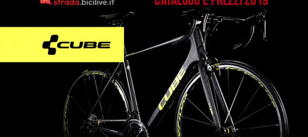Le bici da corsa Cube: catalogo e listino prezzi 2019