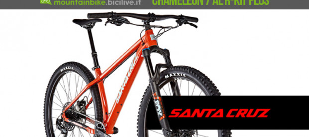 Santa Cruz Chameleon 7 AL R-Kit Plus 2019: la mtb da 29″ camaleontica