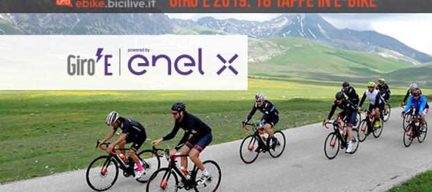 Il Giro E 2019: in e-bike per 18 tappe sullo stesso percorso del Giro d'Italia