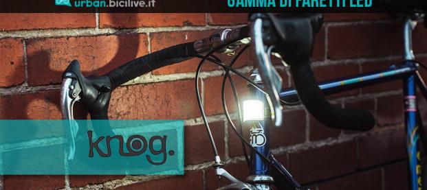 Knog Cobber: la gamma di faretti LED che illumina a 330 gradi