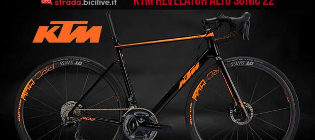 La bici KTM Revelator Alto Sonic 22: leggera e resistente