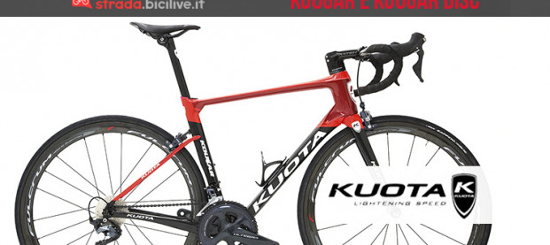Le nuove biciclette da strada Kuota 2019: Kougar e Kougar Disc