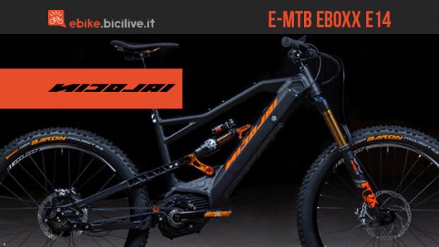Nicolai EBOXX E14: la e-MTB enduro del futuro