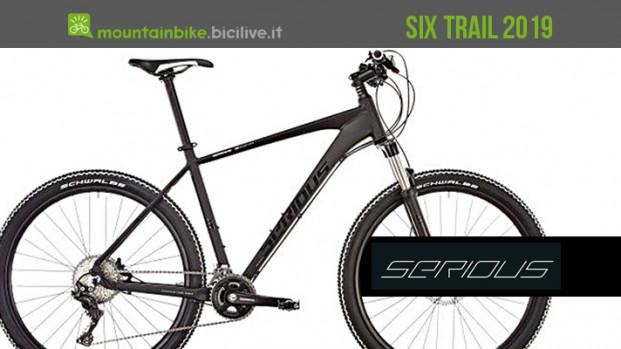 Serious Six Trail, una hardtail in alluminio dal prezzo interessante